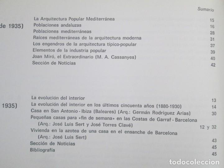 Libros de segunda mano: REVISTA A.C/ G.A.T.E.P.A.C. 1931-1937. ARQUITECTURA. DOCUMENTOS DE ACTIVIDAD CONTEMPORANEA. - Foto 30 - 161584398