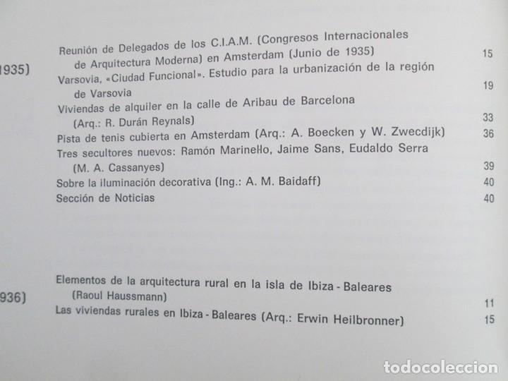 Libros de segunda mano: REVISTA A.C/ G.A.T.E.P.A.C. 1931-1937. ARQUITECTURA. DOCUMENTOS DE ACTIVIDAD CONTEMPORANEA. - Foto 31 - 161584398