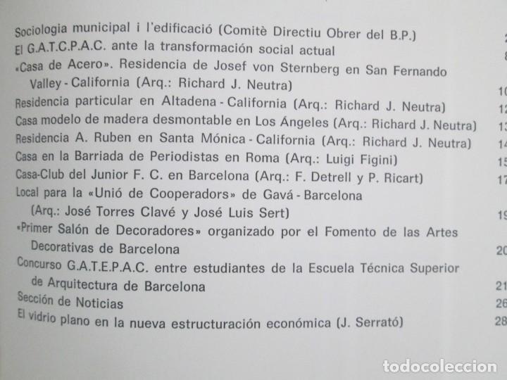 Libros de segunda mano: REVISTA A.C/ G.A.T.E.P.A.C. 1931-1937. ARQUITECTURA. DOCUMENTOS DE ACTIVIDAD CONTEMPORANEA. - Foto 33 - 161584398