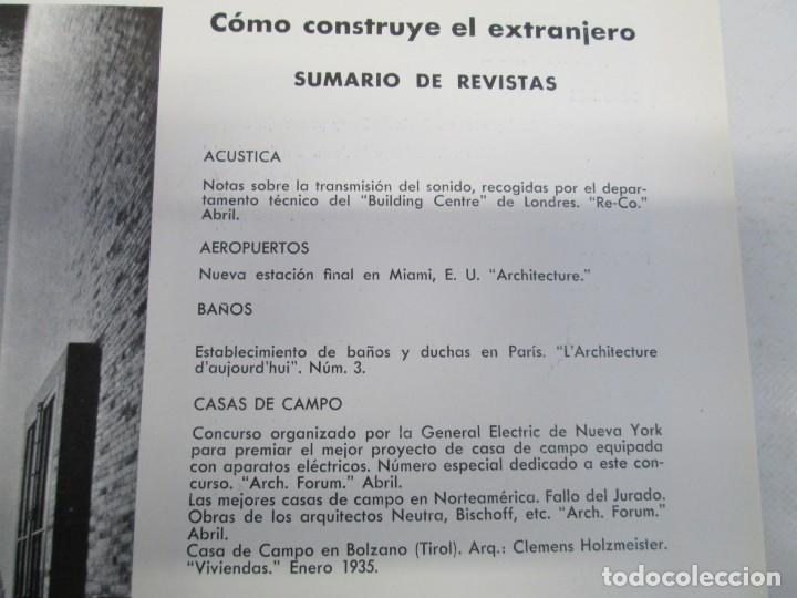 Libros de segunda mano: NUEVAS FORMAS. SELECCION REVISTA DE ARQUITECTURA Y DECORACION. VER FOTOGRAFIAS - Foto 10 - 161637922