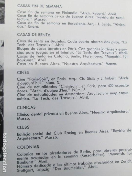 Libros de segunda mano: NUEVAS FORMAS. SELECCION REVISTA DE ARQUITECTURA Y DECORACION. VER FOTOGRAFIAS - Foto 11 - 161637922