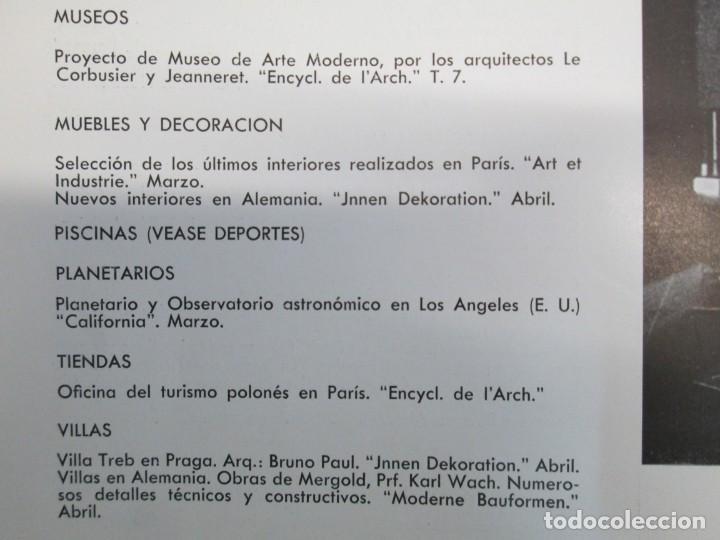 Libros de segunda mano: NUEVAS FORMAS. SELECCION REVISTA DE ARQUITECTURA Y DECORACION. VER FOTOGRAFIAS - Foto 13 - 161637922