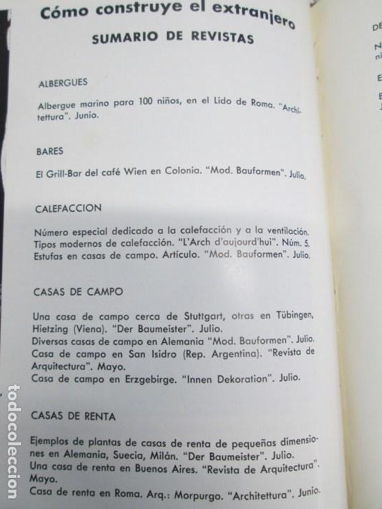 Libros de segunda mano: NUEVAS FORMAS. SELECCION REVISTA DE ARQUITECTURA Y DECORACION. VER FOTOGRAFIAS - Foto 19 - 161637922
