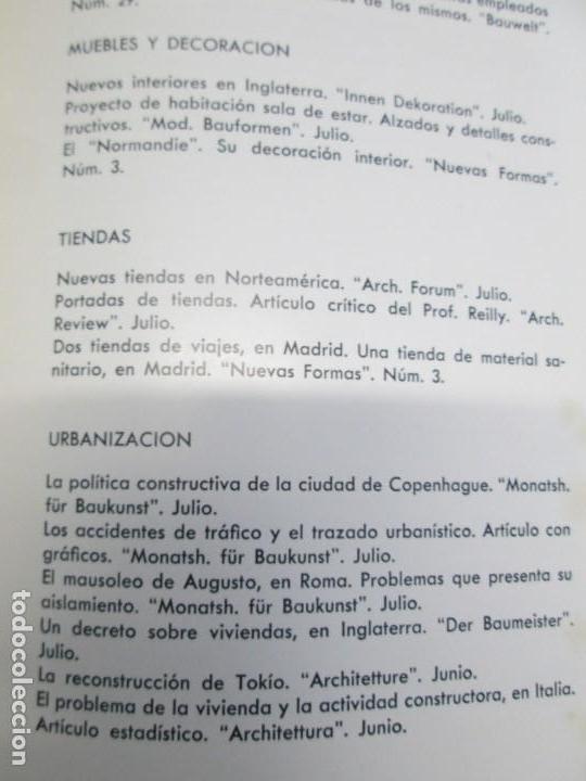 Libros de segunda mano: NUEVAS FORMAS. SELECCION REVISTA DE ARQUITECTURA Y DECORACION. VER FOTOGRAFIAS - Foto 22 - 161637922