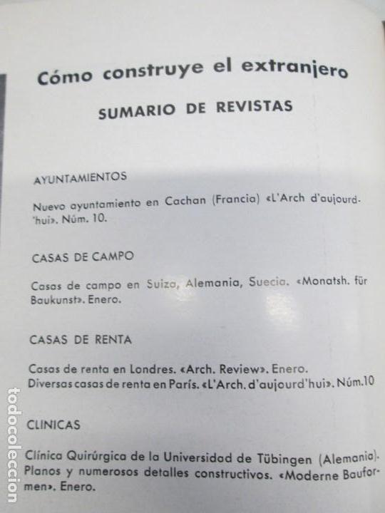 Libros de segunda mano: NUEVAS FORMAS. SELECCION REVISTA DE ARQUITECTURA Y DECORACION. VER FOTOGRAFIAS - Foto 28 - 161637922