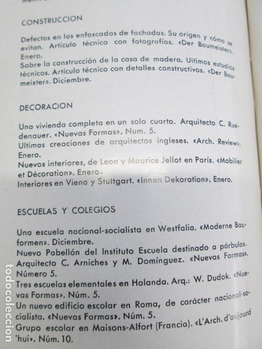 Libros de segunda mano: NUEVAS FORMAS. SELECCION REVISTA DE ARQUITECTURA Y DECORACION. VER FOTOGRAFIAS - Foto 29 - 161637922