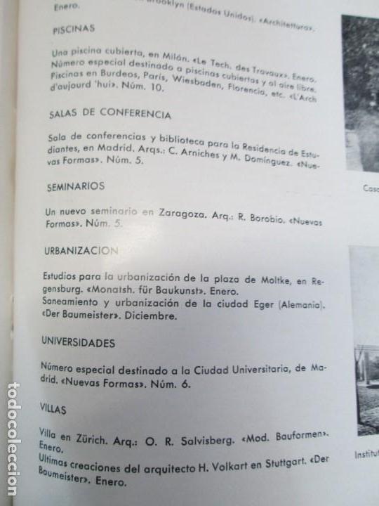 Libros de segunda mano: NUEVAS FORMAS. SELECCION REVISTA DE ARQUITECTURA Y DECORACION. VER FOTOGRAFIAS - Foto 31 - 161637922