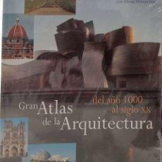 Libros de segunda mano: GRAN ATLAS DE LA ARQUITECTURA. DEL AÑO 1000 AL SIGLO XX. Lote 161798718