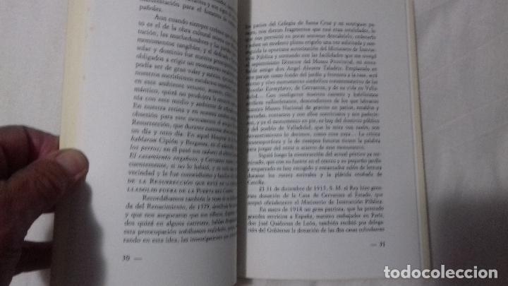 Libros de segunda mano: La casa de Cervantes en Valladolid. - Foto 2 - 163404950