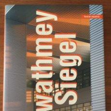 Libros de segunda mano: GWATHMEY & SIEGEL. LIBRO ARQUITECTURA. Lote 163931368