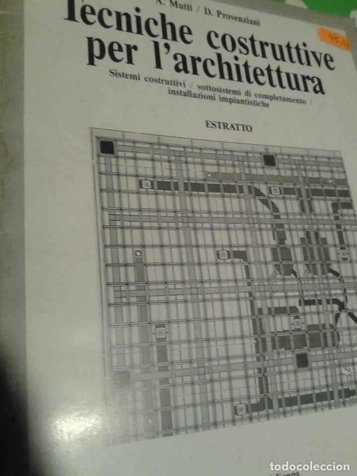 TECNICHE CONSTRUTTIVE PER L´ARCHTETTURA ED. KAPPA (Libros de Segunda Mano - Bellas artes, ocio y coleccionismo - Arquitectura)