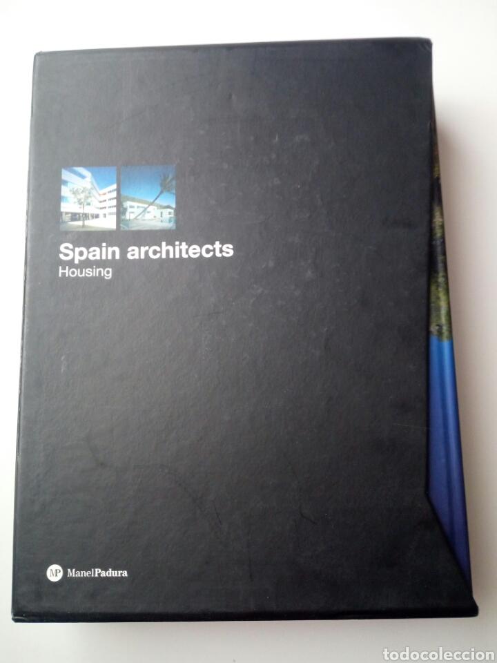 SPAIN ARCHITECS, HOUSING 1 Y 2, EN ESTUCHE, MANUEL PADURA (Libros de Segunda Mano - Bellas artes, ocio y coleccionismo - Arquitectura)