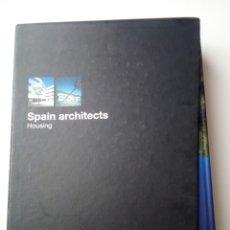 Libros de segunda mano: SPAIN ARCHITECS, HOUSING 1 Y 2, EN ESTUCHE, MANUEL PADURA. Lote 165439440