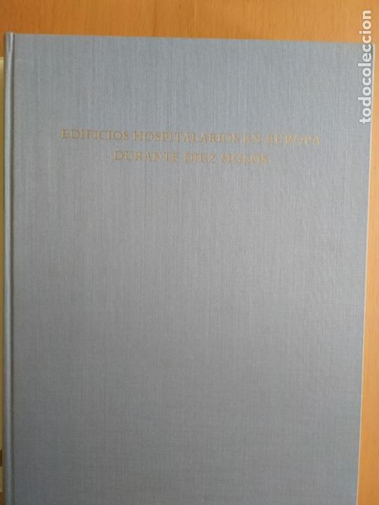 Libros de segunda mano: EDIFICIOS HOSPITALARIOS EN EUROPA DURANTE 10 SIGLOS. Historia de la arq. hospitalaria. DANKWART - Foto 2 - 165753686