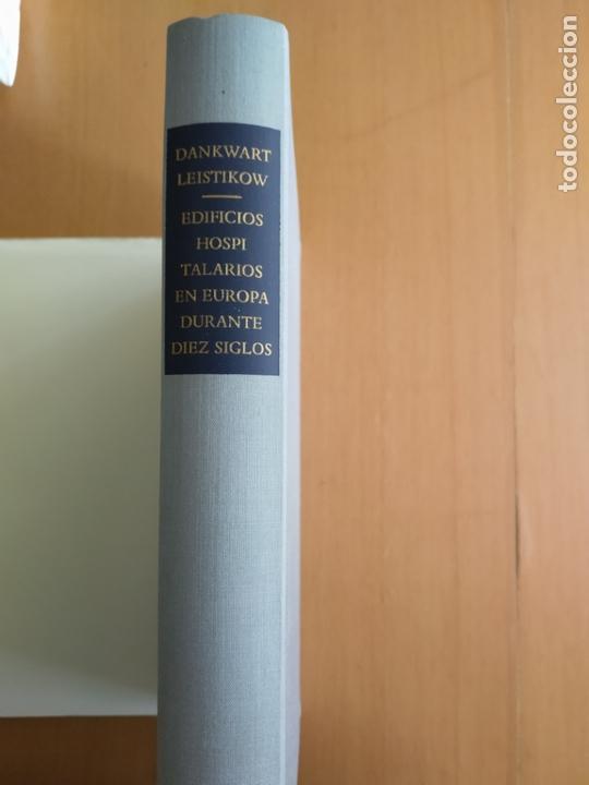 Libros de segunda mano: EDIFICIOS HOSPITALARIOS EN EUROPA DURANTE 10 SIGLOS. Historia de la arq. hospitalaria. DANKWART - Foto 3 - 165753686