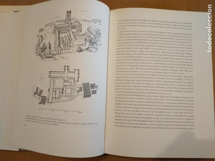 Libros de segunda mano: EDIFICIOS HOSPITALARIOS EN EUROPA DURANTE 10 SIGLOS. Historia de la arq. hospitalaria. DANKWART - Foto 4 - 165753686