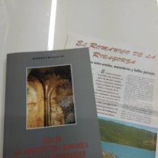 Libros de segunda mano: GUIA DE LA ARQUITECTURA ROMÁNICA EN EL VALLE DE BENASQUE R. BENEDICTO RIBAGORZA MAPA. Lote 166019550