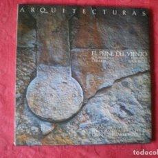 Libros de segunda mano: EL PEINE DEL VIENTO. EDUARDO CHILLIDA, LUIS PEÑA GANCHEGUI. ARQUITECTURAS. 1986.. Lote 166949392