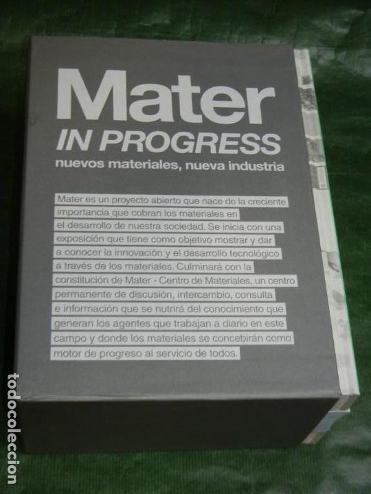 Libros de segunda mano: MATER IN PROGRESS .- NUEVOS MATERIALES, NUEVA INDUSTRIA -3 VOLÚMENES VV.AA. 2008 ARQUITECTURA - Foto 2 - 167852096