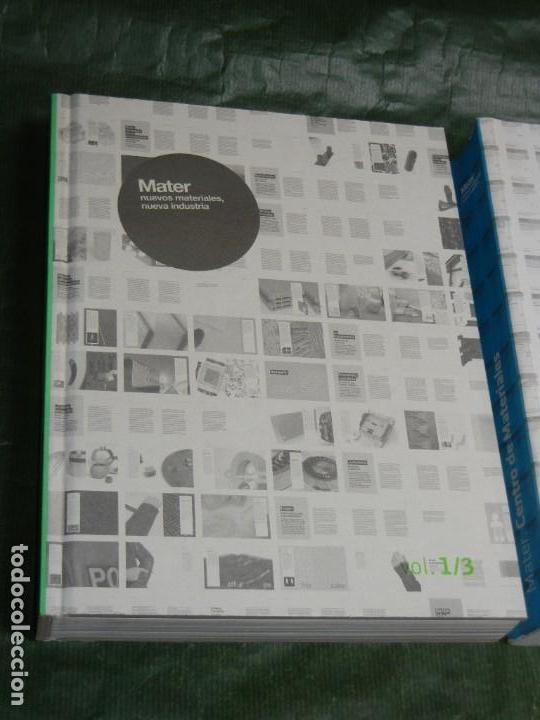 Libros de segunda mano: MATER IN PROGRESS .- NUEVOS MATERIALES, NUEVA INDUSTRIA -3 VOLÚMENES VV.AA. 2008 ARQUITECTURA - Foto 3 - 167852096