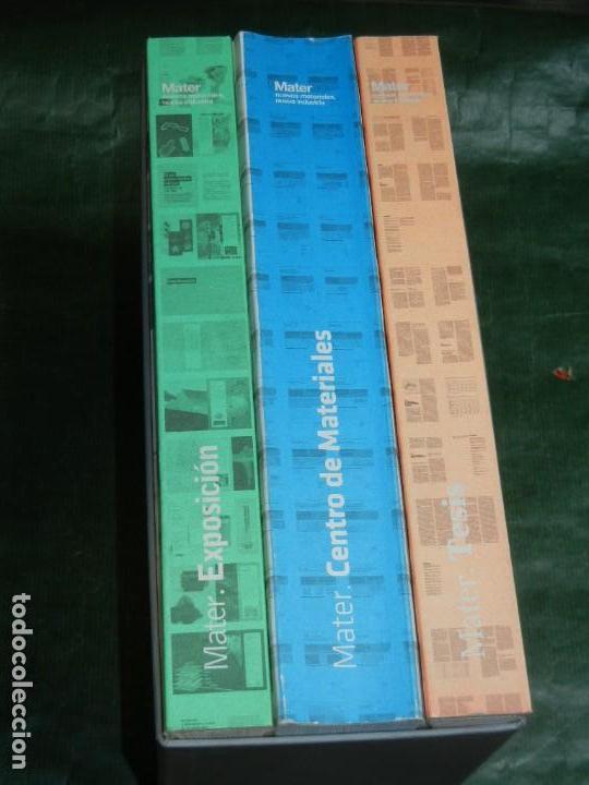 MATER IN PROGRESS .- NUEVOS MATERIALES, NUEVA INDUSTRIA -3 VOLÚMENES VV.AA. 2008 ARQUITECTURA (Libros de Segunda Mano - Bellas artes, ocio y coleccionismo - Arquitectura)