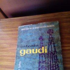 Libros de segunda mano: ANTONIO GAUDI DE BRUGUERA 1961.. Lote 167987264