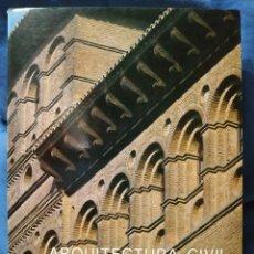 Libros de segunda mano: ARQUITECTURA CIVIL EN ZARAGOZA EN EL SIGLO XVI. CARMEN GÓMEZ URDÁÑEZ. TOMO I. AY. DE ZARAGOZA, 1987.. Lote 168513065
