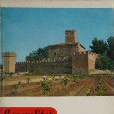 Libros de segunda mano: GENERALITAT. DEDICADO A LOS CASTILLOS DE VALENCIA. BOLETÍN DE LA DIPUTACIÓN PROVINCIAL DE VALENCIA Y. Lote 57156167