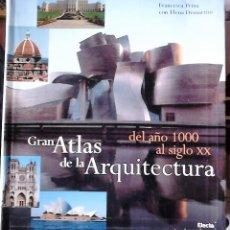 Libros de segunda mano: FRANCESCA PRINA CON ELENA DEMARTINI - GRAN ATLAS DE ARQUITECTURA (DEL AÑO 1000 AL SIGLO XX). Lote 169668600