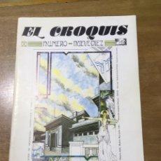 Libros de segunda mano: EL CROQUIS - NUMERO NUEVE - DIEZ - MAYO-JULIO 1983 9 - 10. Lote 169872377