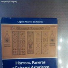 Livros em segunda mão: EFRÉN GARCÍA FERNÁNDEZ. HORREOS, PANERAS Y CABAZOS ASTURIANOS.. Lote 169229576
