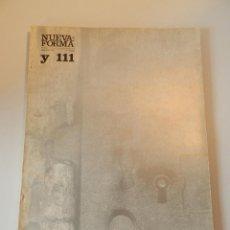 Libros de segunda mano: NUEVA FORMA 111 REVISTA ARQUITECTURA .- MISCELÁNEO - JUNIO-JULIO 1975 EDUARDO CHILLIDA. Lote 295857638