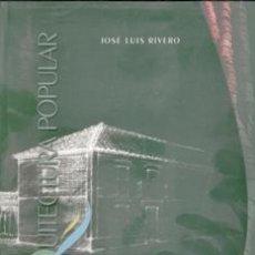 Libros de segunda mano: ARQUITECTURA POPULAR EN MOCOTERA, JOSÉ LUIS RIVERO. Lote 170473937