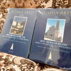 Libros de segunda mano: SUMMA ARTIS XXVIII Y XXIX (28 Y 29). ARTE IBEROAMERICANO. NUEVOS, PRECINTADO.. Lote 170876905