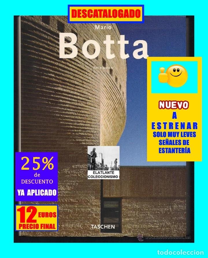 Libros de segunda mano: MARIO BOTTA - PHILLIP JODIDIO - TASCHEN - 2003 - EDICIÓN AGOTADA - NUEVO - 12 EUROS - Foto 2 - 171105450