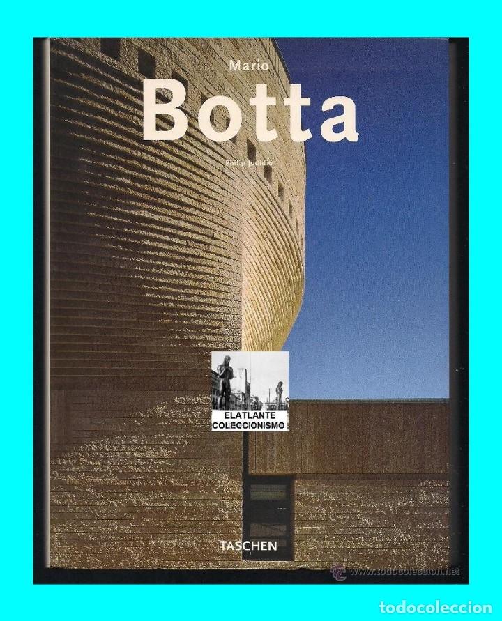 Libros de segunda mano: MARIO BOTTA - PHILLIP JODIDIO - TASCHEN - 2003 - EDICIÓN AGOTADA - NUEVO - 12 EUROS - Foto 3 - 171105450