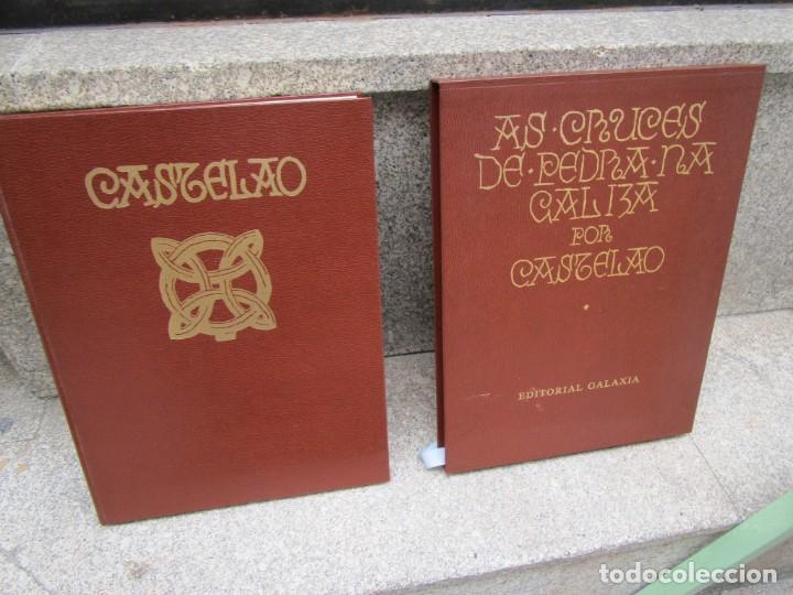GALICIA: AS CRUCES DE PEDRA NA GALIZA POR CASTELAO - GALAXIA 1984, EDI NUMERADA 301/500 + INFO 1S (Libros de Segunda Mano - Bellas artes, ocio y coleccionismo - Arquitectura)