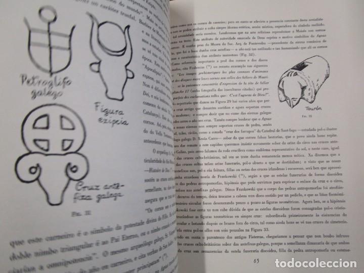 Libros de segunda mano: GALICIA: AS CRUCES DE PEDRA NA GALIZA POR CASTELAO - GALAXIA 1984, EDI NUMERADA 301/500 + INFO 1S - Foto 6 - 171149862