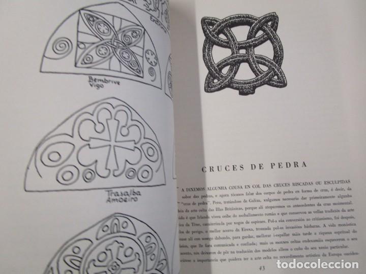 Libros de segunda mano: GALICIA: AS CRUCES DE PEDRA NA GALIZA POR CASTELAO - GALAXIA 1984, EDI NUMERADA 301/500 + INFO 1S - Foto 7 - 171149862