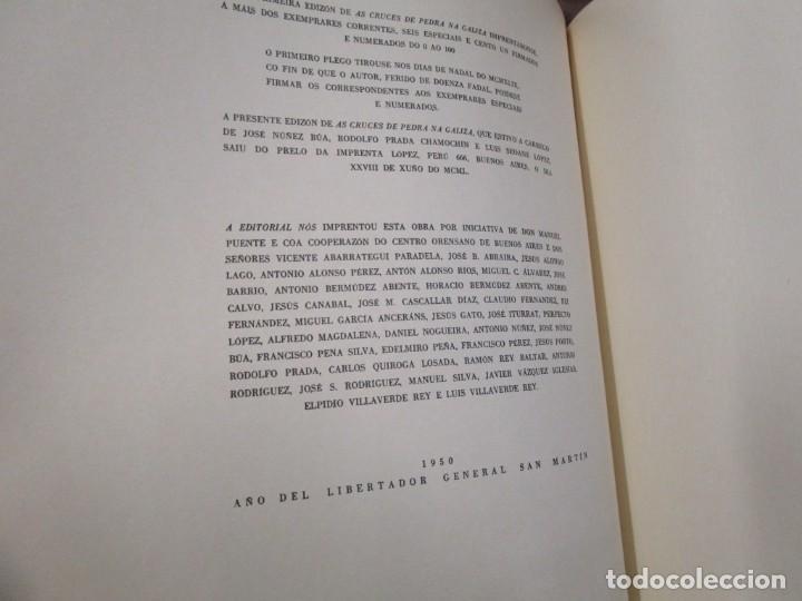Libros de segunda mano: GALICIA: AS CRUCES DE PEDRA NA GALIZA POR CASTELAO - GALAXIA 1984, EDI NUMERADA 301/500 + INFO 1S - Foto 8 - 171149862