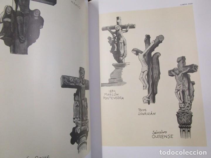 Libros de segunda mano: GALICIA: AS CRUCES DE PEDRA NA GALIZA POR CASTELAO - GALAXIA 1984, EDI NUMERADA 301/500 + INFO 1S - Foto 10 - 171149862