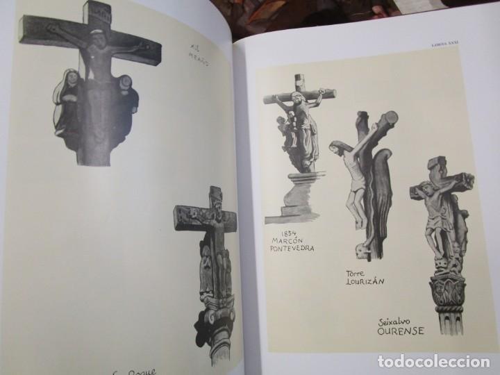 Libros de segunda mano: GALICIA: AS CRUCES DE PEDRA NA GALIZA POR CASTELAO - GALAXIA 1984, EDI NUMERADA 301/500 + INFO 1S - Foto 12 - 171149862