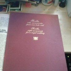 Libros de segunda mano: SEVILLA OCHO MONUMENTOS PARA UNA BODA REAL EN ESPAÑOL E INGLES . Lote 171652288