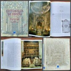 Libros de segunda mano: CATEDRALES DE ESPAÑA.PEDRO NAVASCUES PALACIO. CARLOS SARTHOU CARRERES.. Lote 172012433