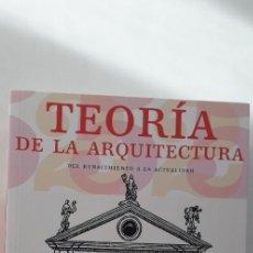 Libros de segunda mano: TEORIA DE LA ARQUITECTURA - BERND EVERS. Lote 172476137