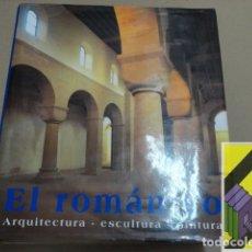 Libros de segunda mano: TOMAN, ROLF/ BEDNORZ, ACHIM: EL ROMÁNICO. ARQUITECTURA-ESCULTURA-PINTURA (TRAD:MAX STREMPEL). Lote 173120460