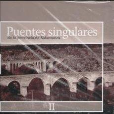 Libros de segunda mano: PUENTES SINGULARES DE LA PROVINCIA DE SALAMANCA II. VARIOS AUTORES.. Lote 173541512