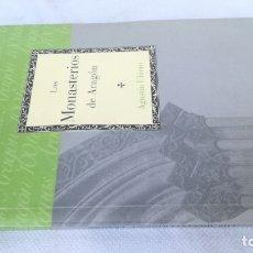 Libros de segunda mano: LOS MONASTERIOS DE ARAGON / CAI 100 ARAGON / F401-402. Lote 173597345