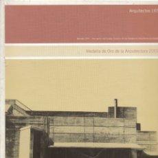 Libros de segunda mano: ARQUITECTOS. Nº. 165. REVISTA DEL CONSEJO SUPERIOR DE ARQUITECTOS DE ESPAÑA. MÁS NÚMEROS. . Lote 173900778