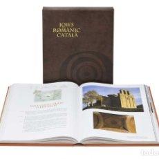 Libros de segunda mano: JOIES DEL ROMÀNIC CATALÀ ENCICLOPEDIA CATALANA LIBRO ARTE DISEÑO Y ARQUITECTURA. Lote 173925484